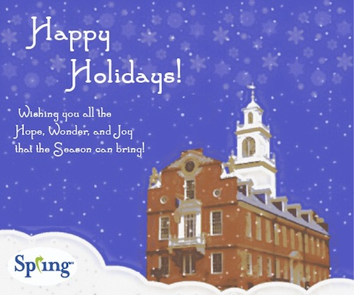 Spring 2013 Holiday Card Old State House Boston