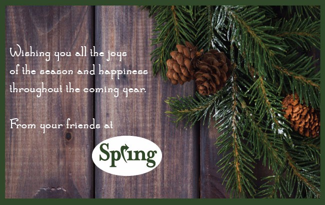 Spring Holiday Greetings 2015